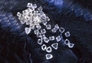 Rough diamonds.