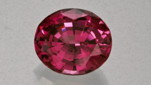 Rhodolite Garnet , 8.27 ct , cut by David Clay, Fallbrook, CA.